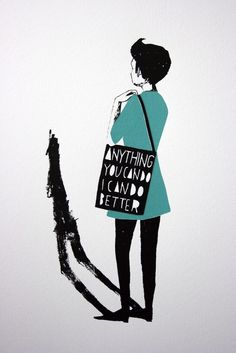 Anything You Can Do print by Jen Collins