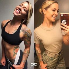 We find and share these 69 beautiful ARMY women with and without uniform in which all these are looking so powerful with stunning and attractive looks. Gorgeous Women, Amazing Women, Good Woman, Girls Uniforms, Military Uniforms, Look Plus Size, Female Soldier, Female Marines, Military Girl