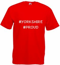 Mens - #Yorkshire T-Shirts