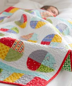 Jack and Jill Quilt Growing Up Modern by cluck cluck sew