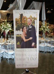 Love wedding banner | LJ & Emily Wedding Ideas | Pinterest ...