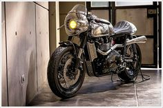 Cafè Racer Culture: Steampunk Racer by Benjie's-Cafe-Racers