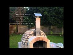 Homemade pizza oven in Denmark - YouTube