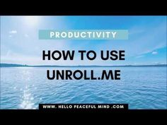 How To Stop Unwanted Emails, Mails, And Phone Calls | Hello Peaceful Mind