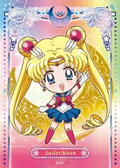 Sailor Moon Stars, Sailor Moon Usagi, Sailor Moon Crystal, Sailor Mars, Sailor Jupiter, Sailor Scouts, Kawaii Chibi, Anime Chibi, Sailor Moon Personajes