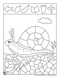 Spring Preschool Worksheets for Shape Recognition & Tracing Practice Shape Worksheets For Preschool, English Worksheets For Kids, Preschool Activities, Coloring Books, Coloring Pages, Abc Crafts, Spring Art Projects, Hidden Pictures, Kids Play Area