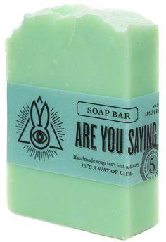 ARCANE BUNNY SOCIETY ARE YOU SAYING WE'RE DEAD SOAP $7.00 #arcanebunnysociety #soap #vegan
