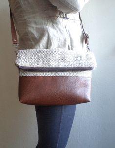 Crossbody bag, Everyday shoulder bag, Foldover purse - reabags on etsy Fashion Bags, Fashion Accessories, Fashion Jewelry, Tote Bag, Crossbody Bag, Satchel, Designer Shoulder Bags, Luxury Sunglasses, Beautiful Bags