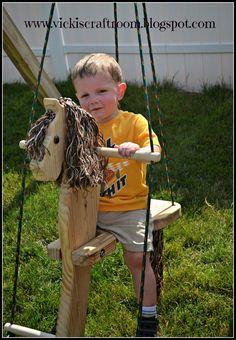 Vicki's Craft Room: Horse Swing