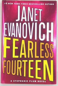 Fearless Fourteen 14 by Janet Evanovich Stephanie Plum Novels 2008 Hardcover