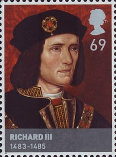 The Houses of Lancaster and York 69p Stamp (2008) Richard III (1483-85) …