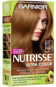 Garnier Nutrisse Ultra Color Nourishing Creme B4 Caramel Chocolate Beige And