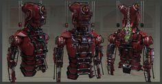 Сoncept Robot , Oshanin Dmitriy on ArtStation at https://www.artstation.com/artwork/V2YnN