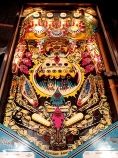 """Bally's """"Silverball Mania""""...classic 70's table when Bally was on top of the game!"""