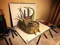 3D art by Japanese artist Nagai Hideyuki - Telegraph