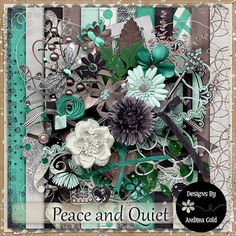 Peace and Quiet {Scrapkit}
