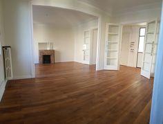 Double_sejour2 Hardwood Floors, Flooring, Puertas, Wood Floor Tiles, Wood Flooring, Floor