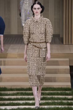#Chanel  #fashion  #Koshchenets      Chanel Spring 2016 Couture Collection Photos - Vogue