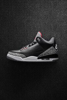 Air Jordan 3 Retro OG Black/Cement 2018