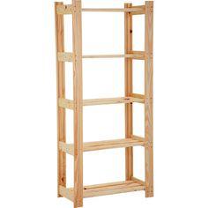 Diy Rack, Woodworking Tips, Organization Hacks, My Room, Ladder Decor, Pallet, Shelving, My House, Bookcase