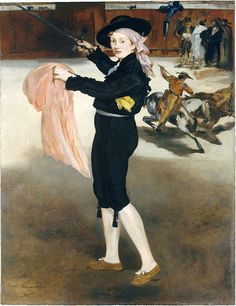Edouard Manet - Mlle Victorine Meurent in the Costume of an Espada - Édouard Manet - Wikimedia Commons