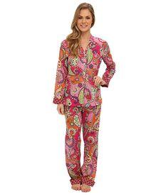 Vera Bradley Pajama Pants & Top Pink Swirls - Zappos.com Free Shipping BOTH Ways