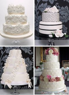 pillar wedding cakes | Wedding Tip from Gemma:
