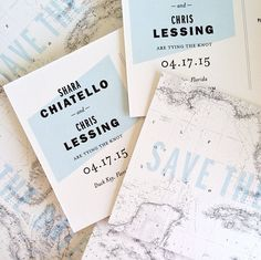 modern destination wedding save the date postcards by hello tenfold