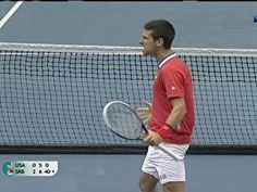 Djokovic vence Isner, mas Querrey vinga compatriota ao derrotar Troicki | sportv.com