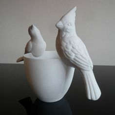 vogeldecoratie // kleur op tafel - great shop