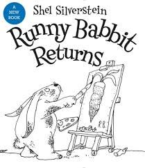Runny Babbit Returns: Another Billy Sook by Shel Silverstein.Runny Babbit Returns, a collection of 41 never-before-published poems and drawings, features Runny and other woodland characters who speak a topsy-turvy language all their own. New Children's Books, Good Books, Date, Best Books For Kindergarteners, Shel Silverstein Books, Published Poems, Kindergarten Books, Preschool Books, Poetry Books