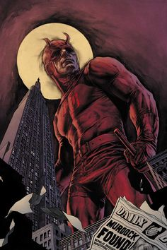 Daredevil #93 cover by Lee Bermejo