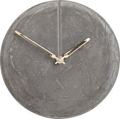 Keep time stylishly. Shop for industrial-inspired wall clocks and unique modern clocks from CB2 – and discover functional art for every room in your house.