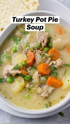 Healthy Soup Recipes, Cooking Recipes, Ham Recipes, Whole30 Recipes, Summer Soup Recipes, Mexican Soup Recipes, Paleo Soup, Simple Recipes, Chili Recipes
