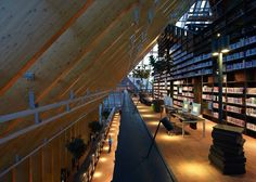 Five-Story Book Mountain Library, Rotterdam