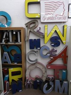 Large assortment of metal letters have arrived at Main Street Antique Mall ! Various Sizes, Colors and styles - some with face plates, some without. Priced individually $8.00 to $40.00. ***** At Main Street Antique Mall 7260 E Main St (east of Power RD on MAIN STREET) Mesa Az 85207 **** Open 7 days a week 10:00AM-5:30PM **** Call for more information 480 924 1122 **** We Accept cash, debit, VISA, Mastercard, Discover or American Express