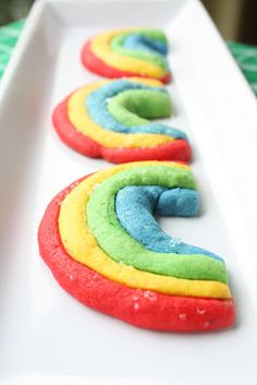 Munchkin Munchies: St. Patrick's Day Cookies: Rainbows and Vintage Postcards