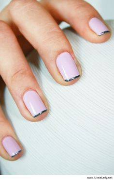Mini french manicure My next nail appointment !