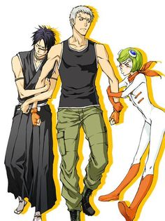 Shuhei and Mashiro fighting over Kensei