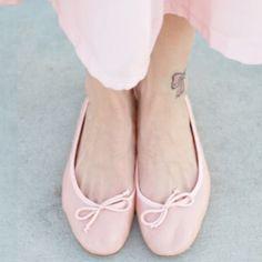 Josefinas Delicate Rose Ballet Flats