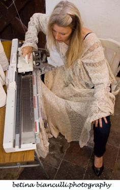 New Skill for 2014 -Machine knitting Lessons on a Single Bed Machine