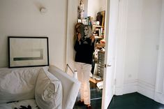 After almost 20 years at the magazine, Tonne Goodman is cutting loose. Her memoir will be published next week. New York Times, Fortuny Lamp, Calvin Klein Gown, Upstairs Landing, Paris Flea Markets, Cfda Awards, Create A Family, Paint Colors For Living Room, Tonne