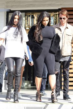 Kim out for lunch at Hugo's Restaurant in Agoura Hills - March 9th 2016