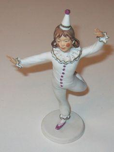 Kaiser porcelain Children of the Circus Dancer 90  Girl figure Germany