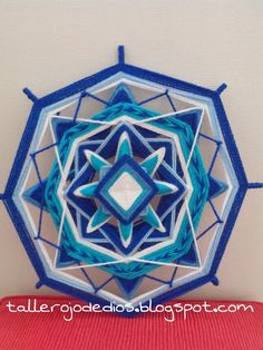 Taller Ojo de Dios: Cursos de Mandalas Tejidos: Jugando con entrelazados