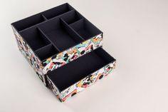 Organizador de mesa com gaveta para quem não aguenta ficar com bagunça na mesa de trabalho