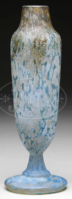 Lot 2248. DAUM NANCY ART GLASS VASE. (66143)