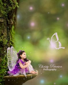 Free Photoshop tutorials on how to edit fairy composites, wings, overlays and digital backgrounds