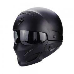 Scorpion Jethelm EXO-Combat Solid Matt Black