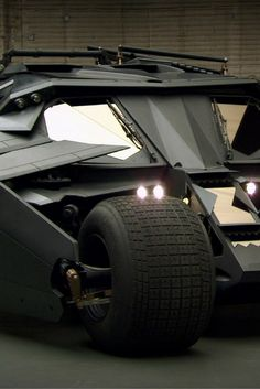 The Batman Tumbler Is For Sale! - http://www.carhoots.com/home/this-batmobile-could-be-yours-for-the-right-price/